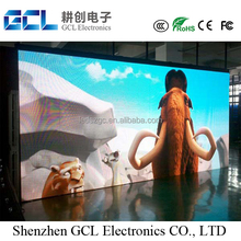 Indoor P4 full color hd led commercial advertising display screen