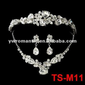 fashion wholesale china bridal set jewelry