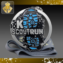 Custom Running Medal For Scout Run