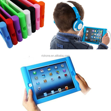 Kids Case Cover Shock Proof Soft Handle Stand Case For Apple For iPad 2 3 4