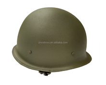 olive green alloy steel ABS helmet anti-riot helmet