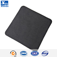 Fillet Black Microfiber Cleaning Glasses Cloth