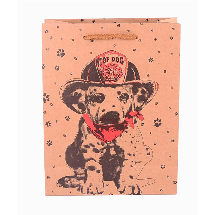 Promotion Gift Drawstring Pink Paper Bag