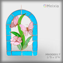 MX100017_Tiffany_Style_Butterfly_Sun_Catcher_Stained_Glass_Panel