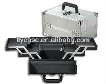 factory direct sale multi-layer aluminum make-up case