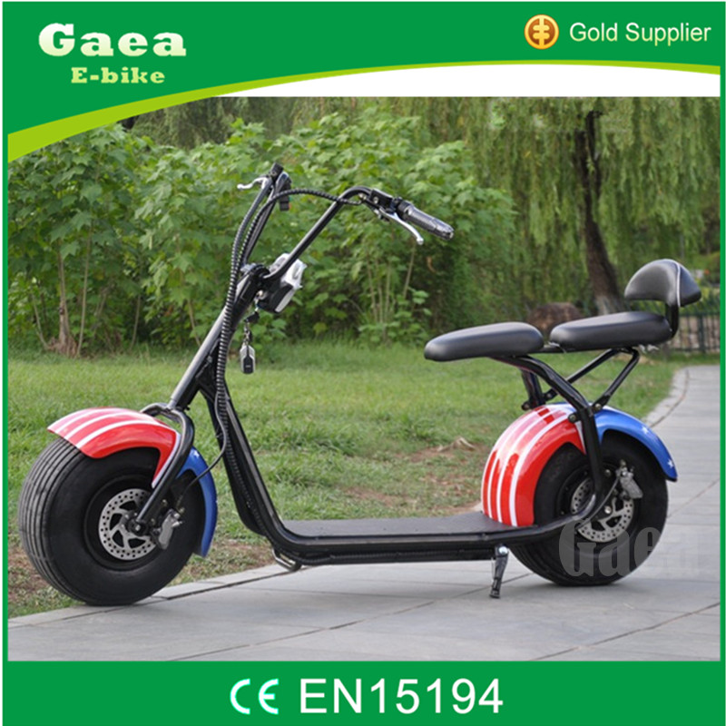 Gaea fashionable electric scooter motor/adult electric motorcycle for sale