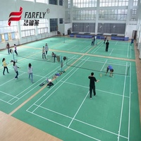 BWF Certificate approved PVC badminton court mat