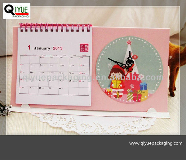 colorful desk calendars designs 2013 2014