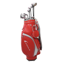 Outdoor women junior golf club set with pu stand bag