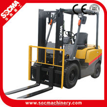 Isuzu engine powered 2.5 ton diesel forklift