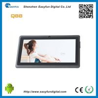 Contemporary useful digital tv 7'' android tablet pc