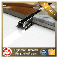 Border listello stainless steel tile trim