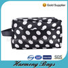 Portable hanging dot printing beauty cosmetic case