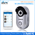 cctv wireless doorbell Zilink Cobell Home automation smart p2p wifi doorbell door phone