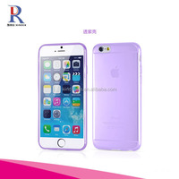 Ultra Thin Slim Fit PP Matte Clear Hard Back Cover for iPhone 6