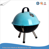 Hot selling easy to carry tailgate party outdoor novelty bbq grill