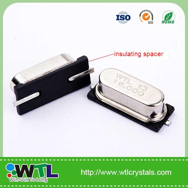 electronic components for WIFI system 8.000MHz 20pF /30ppm-20+70'C /30ppm 49smd resonator