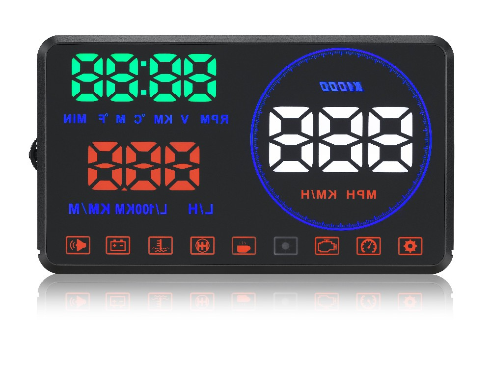 With Display board M9 New Model Car HUD Head Up display