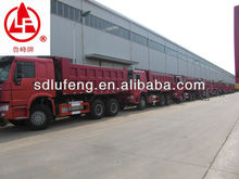 25 ton sinotruck howo man diesel dump truck price for sale