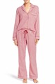 Adult wholesale houndstooth pattern womens cotton PJs