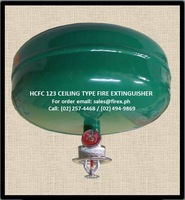 HCFC 123 Ceiling type Fire Extinguisher
