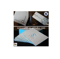 Wholesale letter press printing paper luxury business card per your artwork