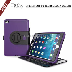 Tab protective cover case rugged tablet pc case for ipad mini 4 with stand function