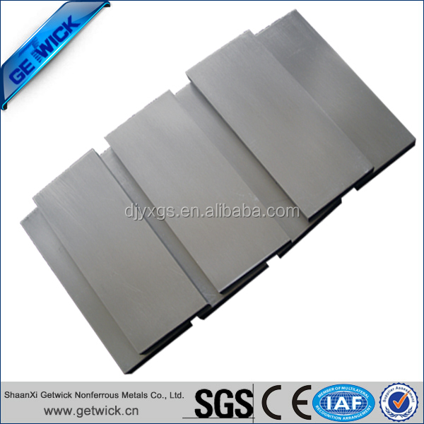 Best price 99.95% pure rolled Tantalum sheet/plate on alibaba