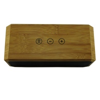 Wholesale High Quality Portable Wireless Mini Bluetooth Bamboo Wooden Speaker