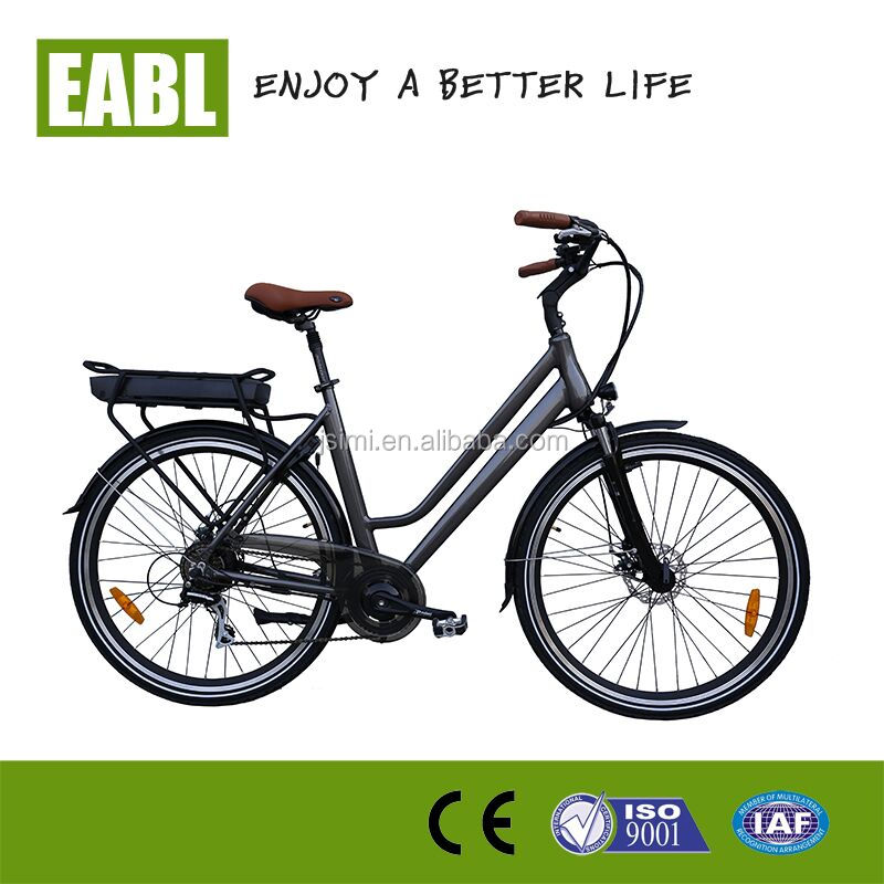 Factory directly sale city electric bicycle, Power bicycle with 8 fun rear motor