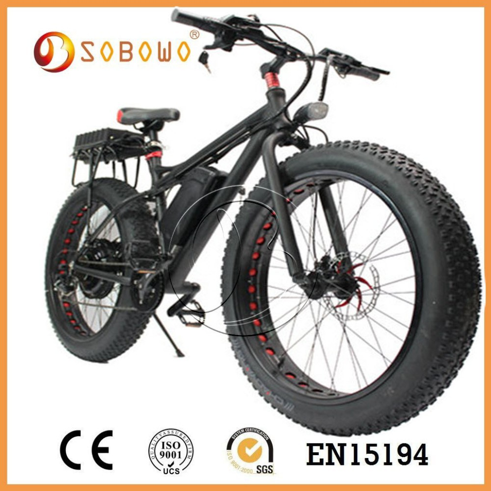 hot selling electric snow bike with big wheels