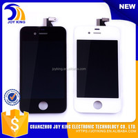 wholesale touch screen glass digitizer lcd assembly for iphone 4s + back + home button