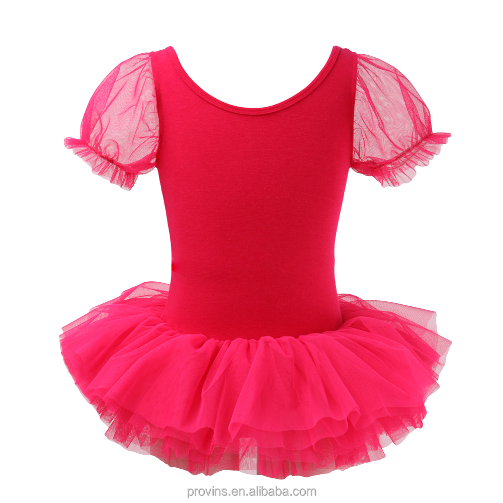 Princess Girls Ballet Tutu, Puffy Sleeve Tutu Dress for Kids (GG06035)