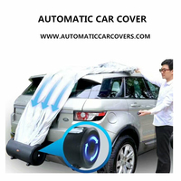 The portable automatic car covers car body cover auto cover for sell