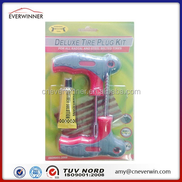 Tire repair reamer , tire repair tool kit