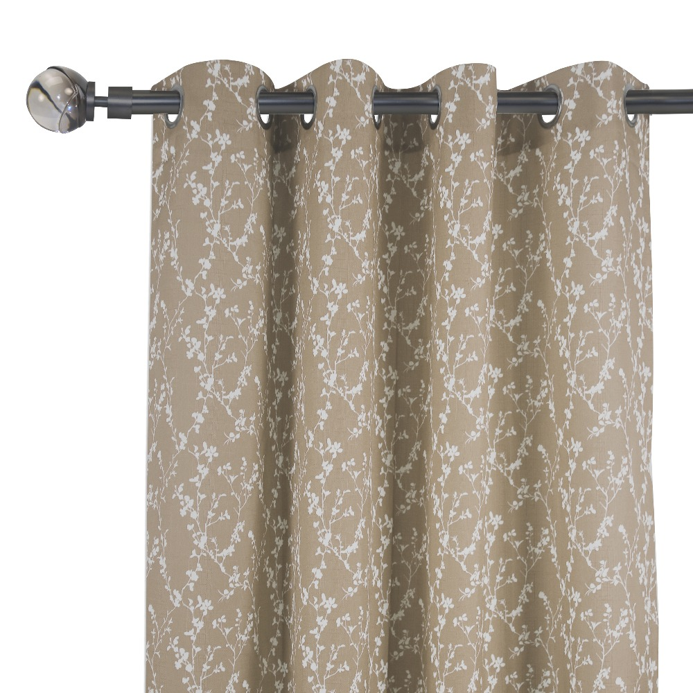 Office Window Curtain Luxury Linen Curtain