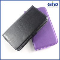 Hot Selling Stitch PU Leather Universal Case For Cell Phone