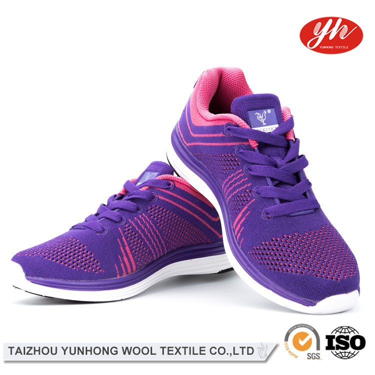 Latest High Quality Manufacturer Sport Running Lady Shoe