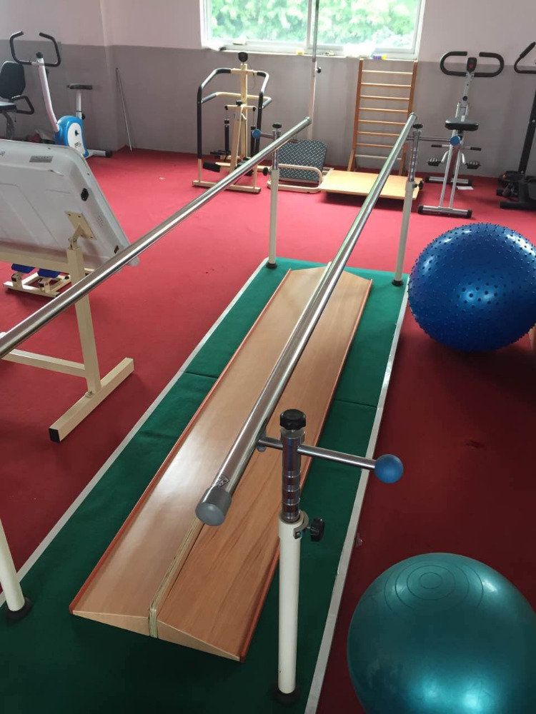 Adjustable wooden training parallel bars for sale