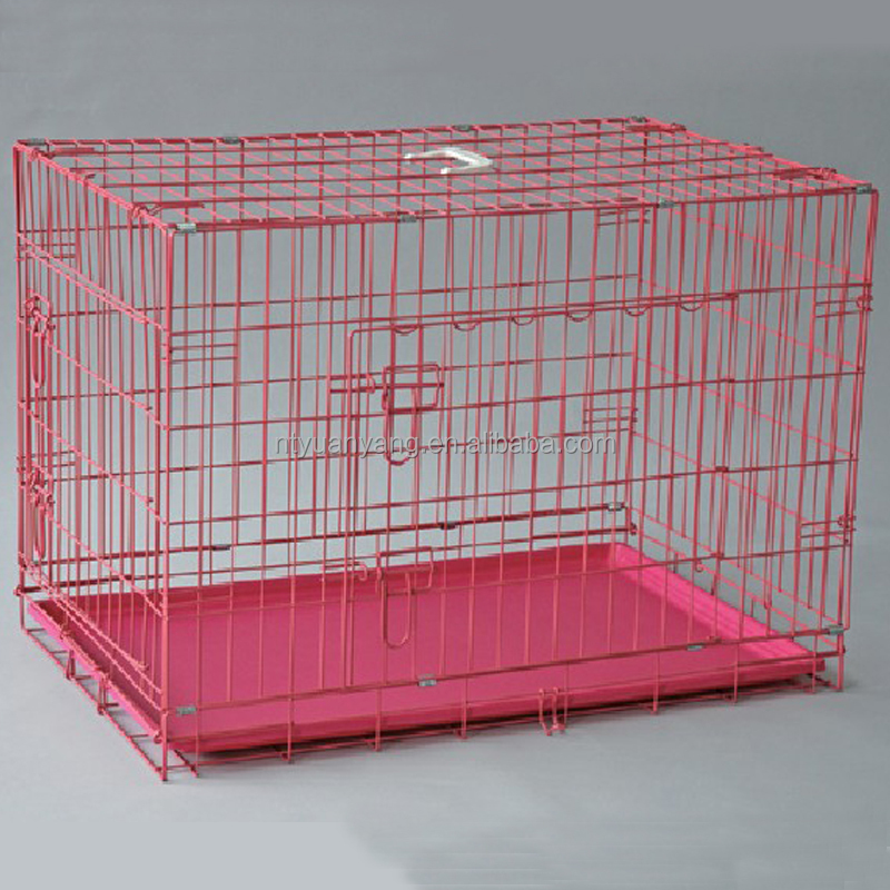 Retail customized size welded mesh dog kennel