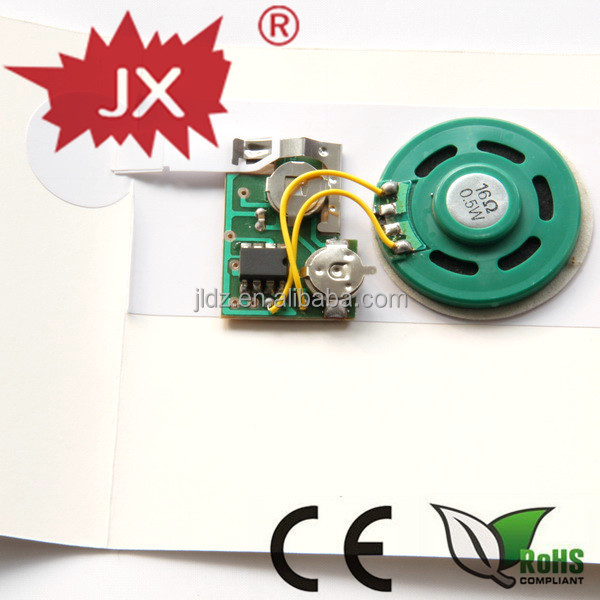 2014 wholesale high quality voice recording greeting card/sound recording module for greeting cards