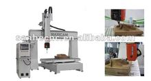 Hot new products for 2015!!! 1325 5 axis cnc machining center , 5 axis cnc wood router