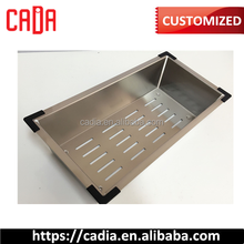 304 Stainless Steel Kitchen Sink Drainer Tray/Colander Rectangle