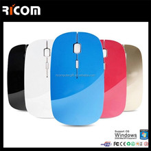 cheap 2.4ghz wireless bluetooth mouse laser from Shenzhen Ricom BM8003