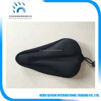 3D gel bicycle seat cover buyer custom made mountain bike saddle cover on selling