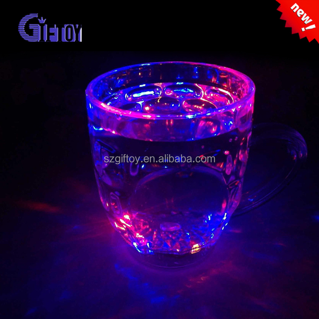 Led Liquid Activated Beer Mugs