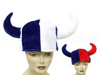 Crazy hats for Carnival and Party plush viking helmet