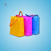 Custom printed logo gift bag/Luxury Shopping Paper Bag for Cloth