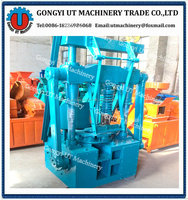 Hollow shape Charcoal honeycomb briquette making machine/ Coal honeycomb briquette making machine