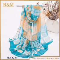 New Fashion Women Long Soft Wrap Chiffon Scarf Lady Silk Scarf